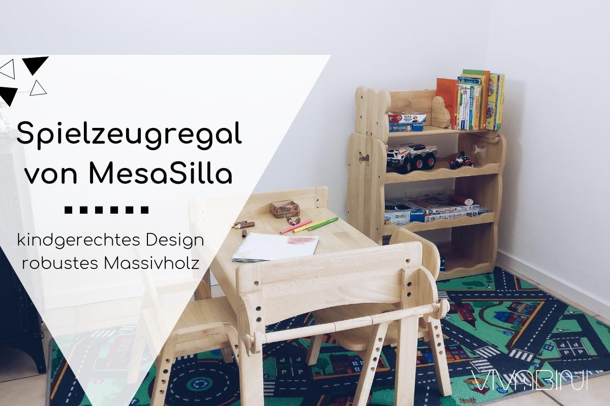 Das Spielzeugregal von MesaSilla: kindgerechtes Design in robustem Massivholz (mit Rabattcode!)