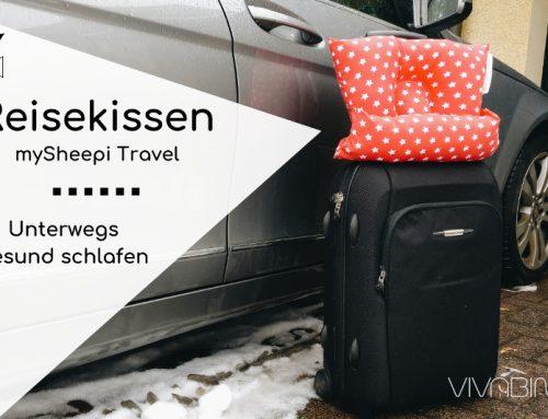 mySheepi Travel: Das Reisekissen für den gesunden Schlaf unterwegs (mit Gutschein!)
