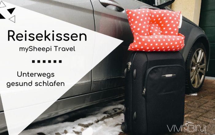 mySheepi Travel Reisekissen