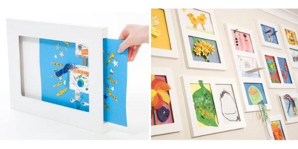 3D Bilderrahmen für Kinderbilder