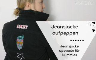 Jeansjacke upcyceln diy