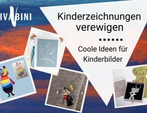 Kinderzeichnungen verewigen oder: Mach was Cooles draus!