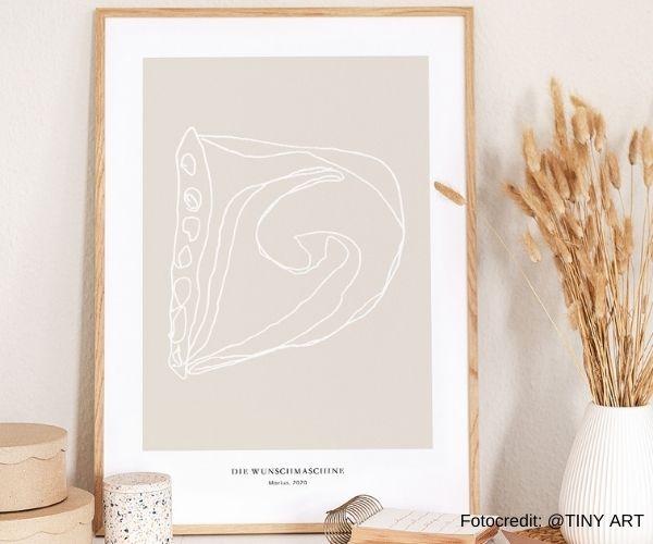 Gallerydruck aus Kinderzeichnung