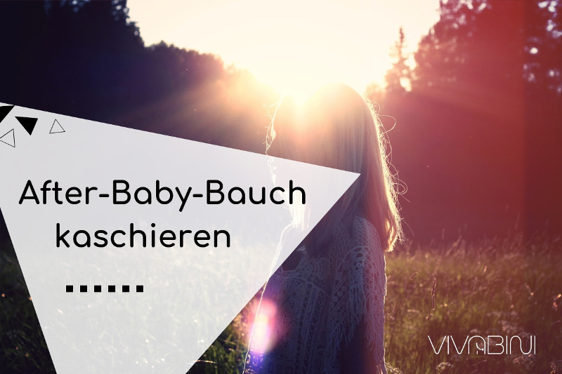 After-Baby-Bauch kaschieren Styling-Tipps