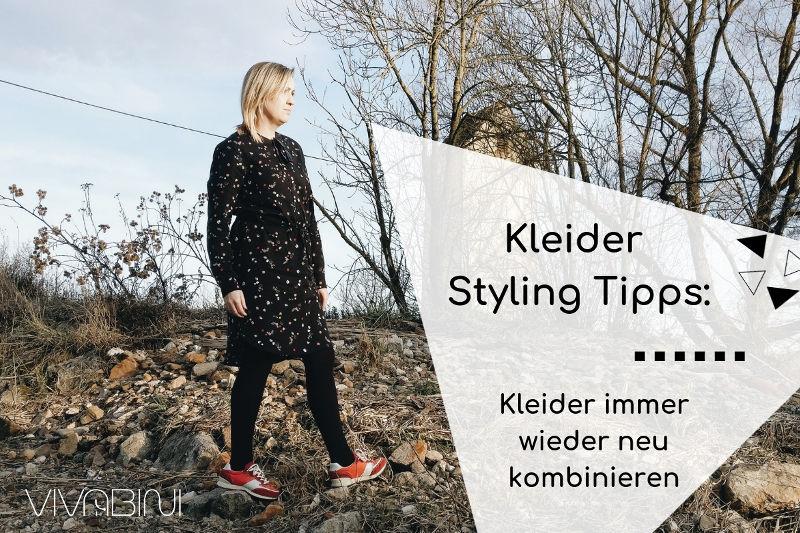 Kleider Styling Tipps: so kombinierst du dein Kleid immer wieder neu
