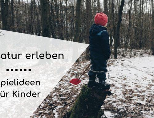 Vier Ideen für Spiele in Natur und Wald mit Kindern