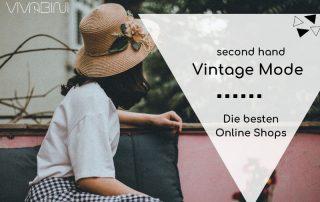 Die schönsten second hand online shops für Vintage Klamotten