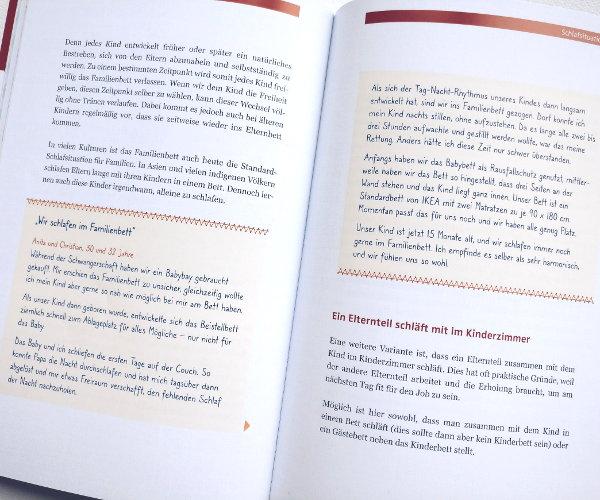 Erfahrungsberichte im Buch Mama sein von Nele Hillebrandt