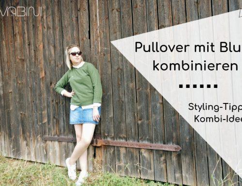 Wenn die Bluse mit dem Pullover: Kombi-Ideen für spannende Looks