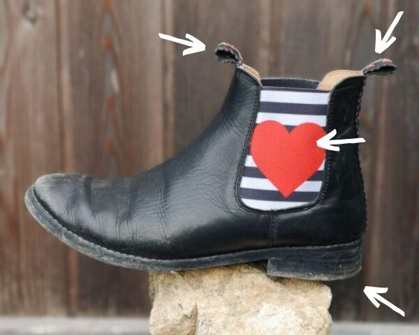 Mermale von Chelsea-Boots