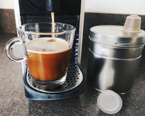 capseco-Kaffee in gewohnter Nespresso-Qualität