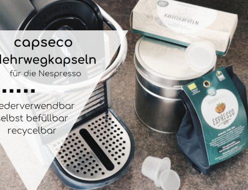 Die Mehrweg-Kaffeekapseln von capseco im Test: befüllbar, wiederverwendbar, recycelbar (mit Rabattcode!)