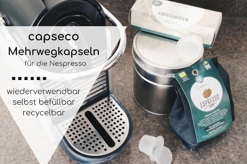 capseco wiederbefüllbare Kaffeekapseln im Test