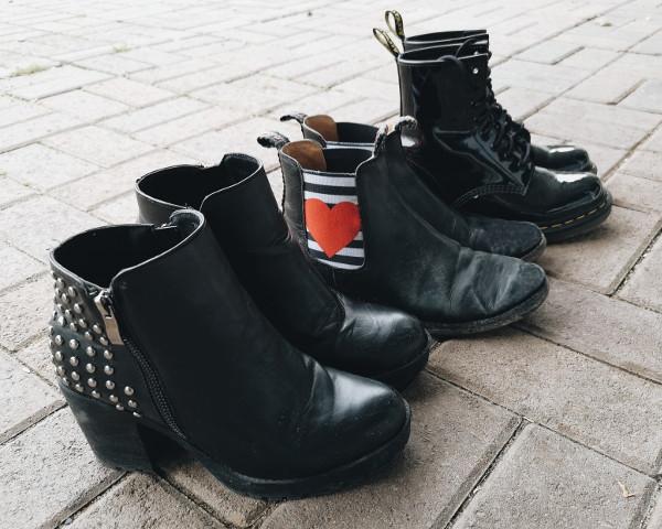 Schuhe-Capsule für Herbst Winter