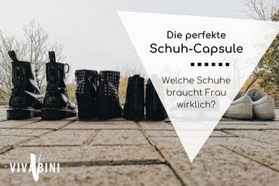 Capsule Wardrobe Schuhauswahl
