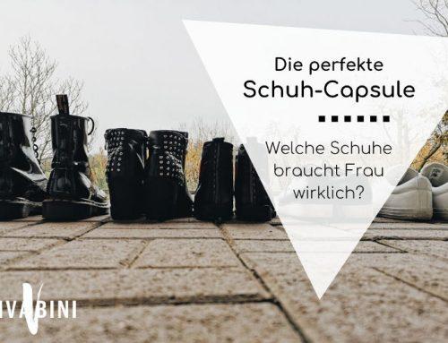 Die perfekte Schuhauswahl für die Capsule Wardrobe oder: Welche Schuhe braucht Frau?