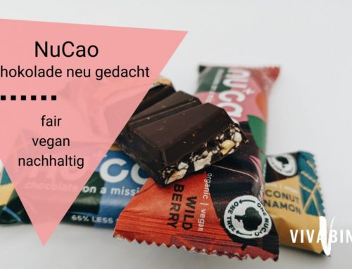 Vegan, fair, plastikfrei: nucao ist die neue Generation Schokolade