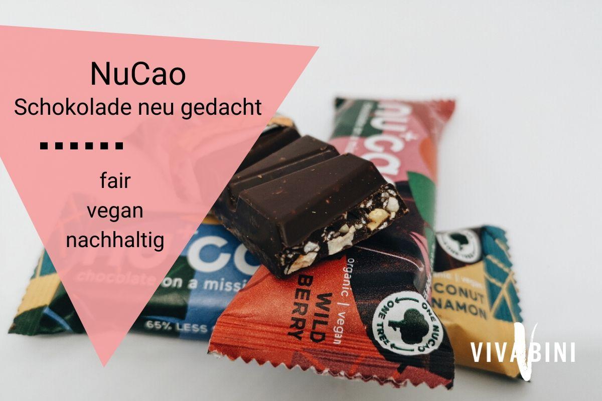 Erfahrung mit NuCao Schokolade
