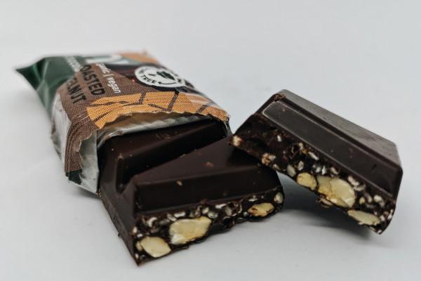NuCao faire Schokolade closeup
