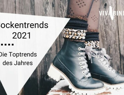 Socken-Trends 2021: Diese Trendsocken tragen uns durch das Jahr!