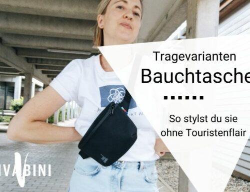 Bauchtasche tragen: So vermeidest du den Touristenlook