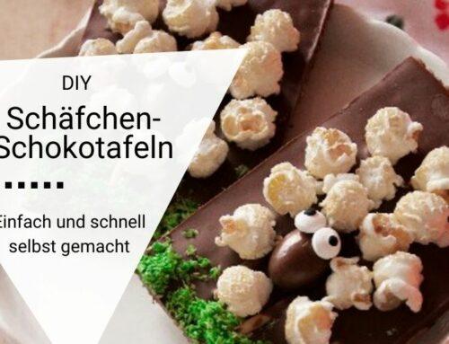DIY Schäfchen-Schokotafeln – eine süße Idee nicht nur für das Osternest!