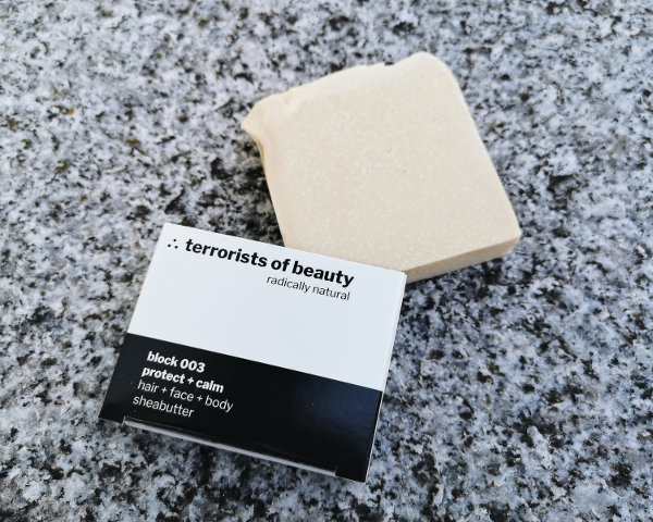 Minimalistische Naturseife von terrorists of Beauty