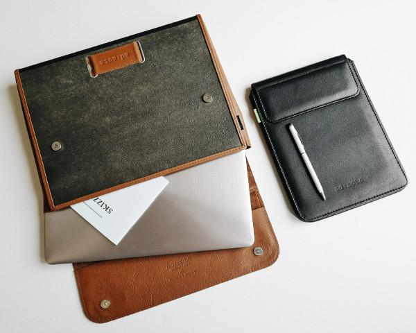 upgecycelte businesstaschen von ad:acta