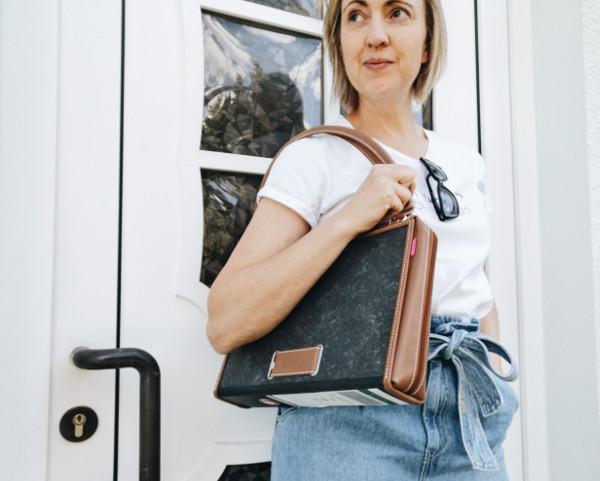 Upcycling Handtasche von adacta