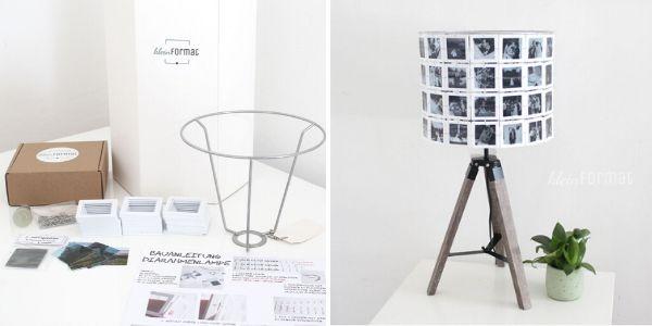 DIY Set für Foto-Leuchte von kleinFormat