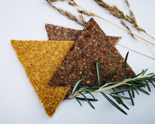 vegane Rohkost-Cracker von AHO