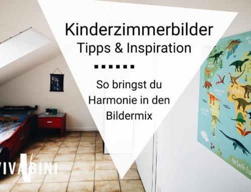 Kinderzimmerbilder oder: Wie du Harmonie in jeden Stilmix bringst