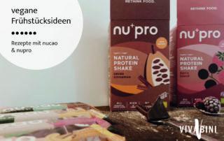 nucao Rezepte - vegane Frühstücksideen & Snacks