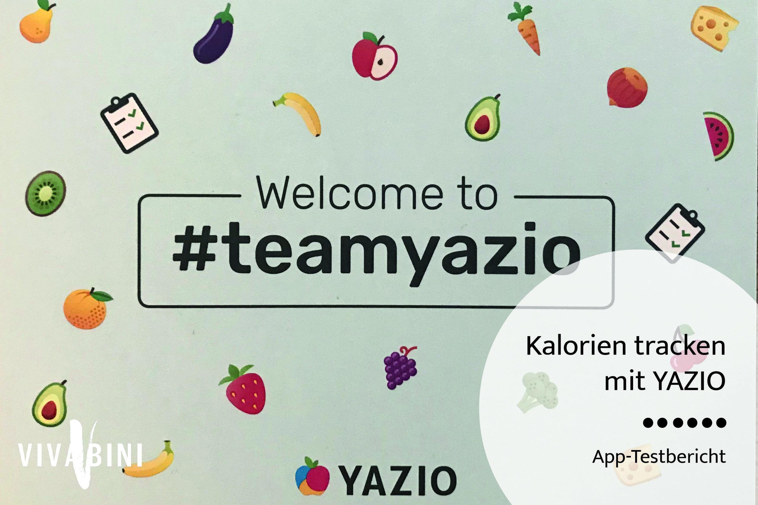 #teamyazio - YAZIO Erfahrung - ein Bericht zur Kalorienzähler-App