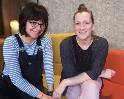Jessi und Natalia von Beckenboden Easy