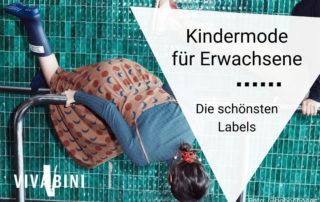 Labels Kindermode für Erwachsene