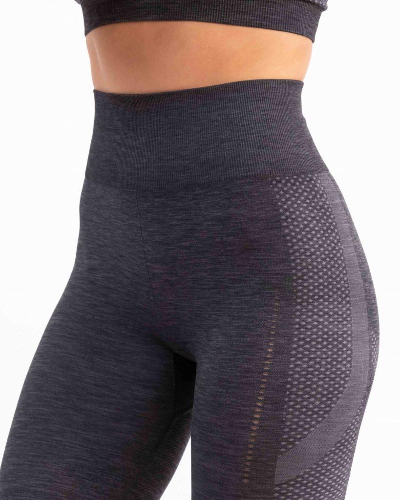 Nachhaltige Sportbekleidung - Gymbassador Sport-LEGGINGS 3 pro Front-Ansicht
