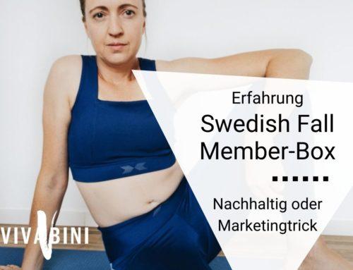 Meine Swedish Fall Member-Box Erfahrung: Standard nachhaltig vermarktet