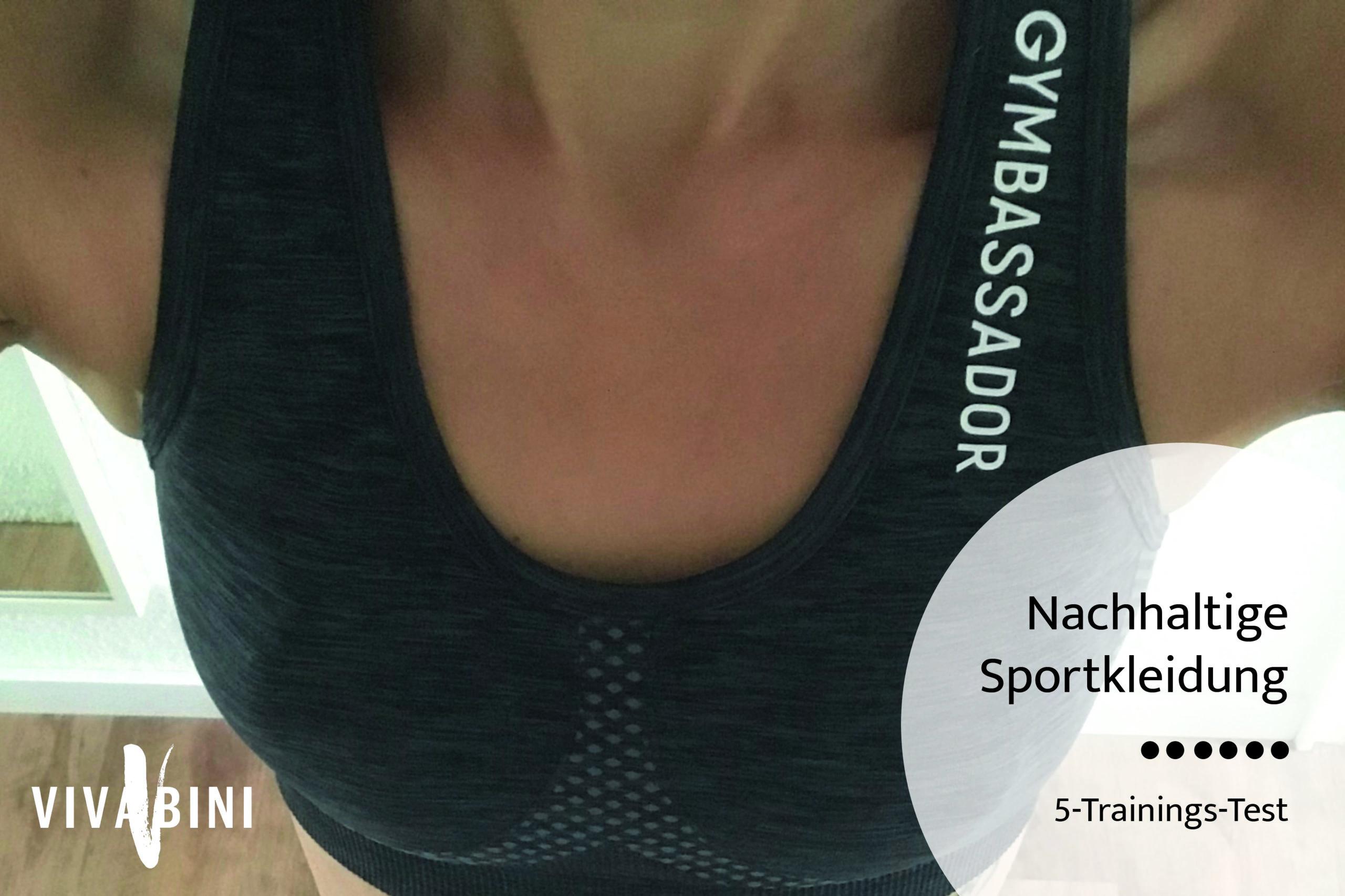 Gymbassador Testbericht nachhaltige Sportbekleidung