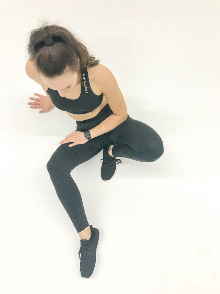 Gymbassador 3DKNIT-Kollektion in Schwarz - nachhaltige Sportbekleidung