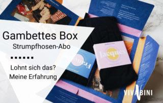 Erfahrungsbericht Gambettes Box
