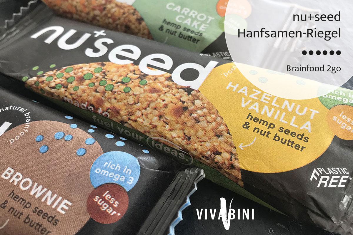 Nuseed Hanfsamen-Riegel - Brainfood2go