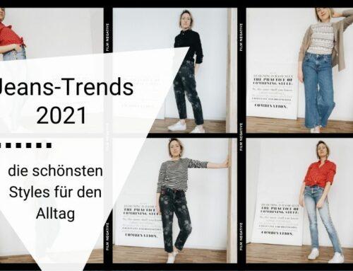 Jeans-Trends 2021: so stylst du die neuen Trendjeans im Alltag