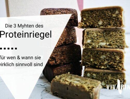Die drei Mythen des Proteinriegels – und für wen sie sinnvoll sind