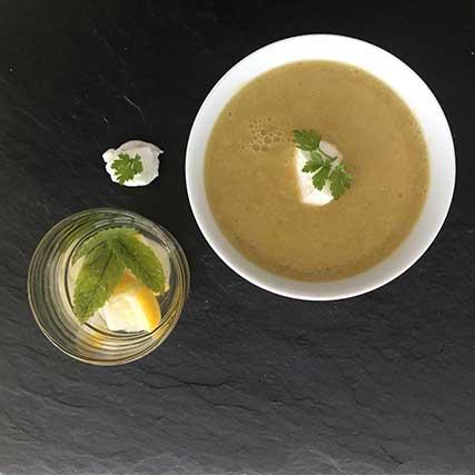 Bowl Rezepte – Brokkoli-Blumenkohl-Suppe