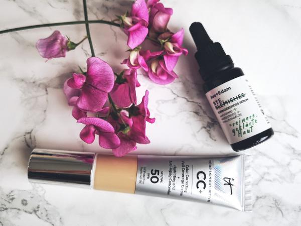 Make up mit LSF als Sonnenschutz für das Gesicht