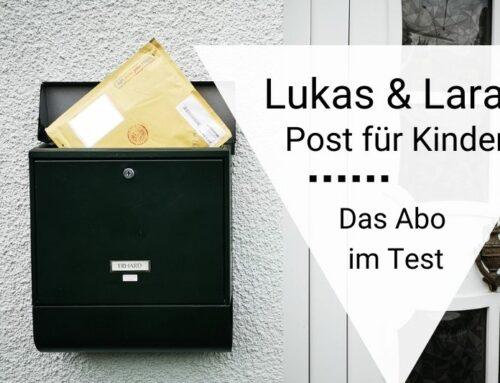 Lukas und Lara auf Tour: unsere Erfahrung mit der persönlichen Post für Kinder